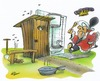 Cartoon: Tag der Toilette (small) by HSB-Cartoon tagged wc,toilette,donnerbalken,könig,cartoon,karikatur,airbrush