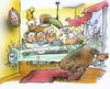 Cartoon: wild boar (small) by HSB-Cartoon tagged wild,boar,pig,schwein,wildschwein