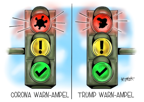 Warn-Ampel