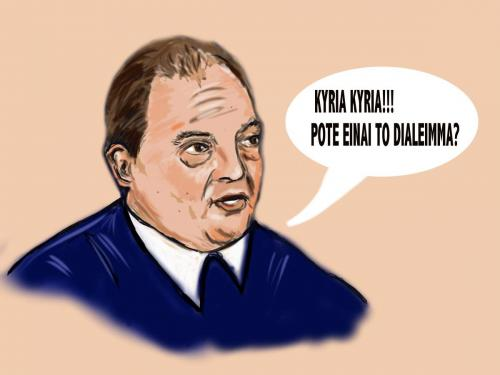 Cartoon: political caricature (medium) by oursoula tagged art,politics,greece,digital