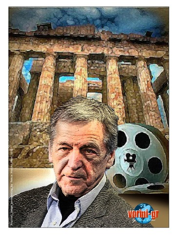 Cartoon: Kostas_Gavras_2010 (medium) by takis vorini tagged vorini