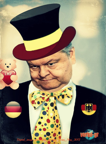 Cartoon: Venizelos friend of the Germans (medium) by takis vorini tagged vorini