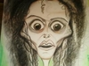 Cartoon: Bellitrix Lastrange (small) by HA Purvis tagged helenabonhamcarter,tim,burton,harrypotter