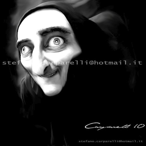 Cartoon: Marty Feldman (medium) by carparelli tagged caricature