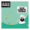 Cartoon: Je suis Charlie (small) by Giuseppe Scapigliati tagged je,suis,charlie