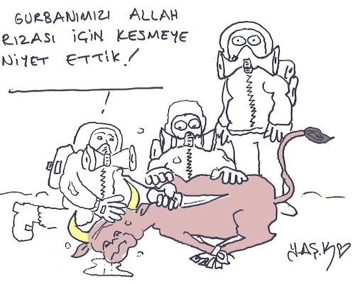 Cartoon: anthrax disease (medium) by yasar kemal turan tagged anthrax,disease