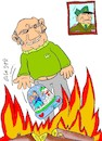 Cartoon: melt with love (small) by yasar kemal turan tagged melt,with,love