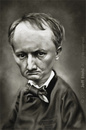 Cartoon: Charles Baudelaire (small) by Jeff Stahl tagged charles,baudelaire,caricature,stahl,illustration
