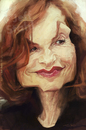 Cartoon: Isabelle Huppert by Jeff Stahl (small) by Jeff Stahl tagged isabelle,huppert,caricature,woman,french,actress,jeff,stahl,illustration,freelance