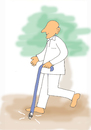 Cartoon: DisAbility (small) by karunakar tagged ability,disability,pwd,visually,challenged
