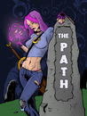 Cartoon: The Path (small) by JamesRiot tagged horror,lovecraft,the,path
