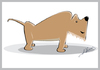 Cartoon: Dog (small) by arquimimo tagged illustrator