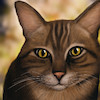 Cartoon: Cat (small) by alesza tagged cat animal feline fur cute awesome nice color colourful pet mammal gift present design illustration painting digital art artwork