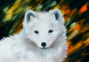 Cartoon: Polarfuchs (small) by alesza tagged polar fox fuchs polarfuchs polarfox white animal digital art painting illustration unikatdesign
