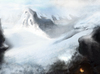 Cartoon: Snowy Mountains (small) by alesza tagged snow,mountain,snowy,schnee,landscape,nature,cold