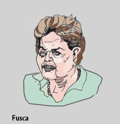 Cartoon: Dilma Rousseff puppet president (medium) by Fusca tagged governments,authoritarian,latin,politicians,scandal,riots,marches,spring,corruption