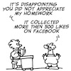 Cartoon: Homework (small) by fragocomics tagged school,educational,education