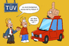 Cartoon: TÜV (small) by ChristianP tagged tüv