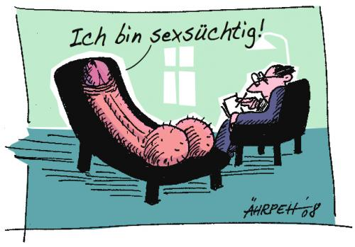 Cartoon: Auf dem Sofa (medium) by rpeter tagged couch,sofa,psychater