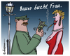 Cartoon: Direktbuchung (small) by rpeter tagged frau,liebe,sex,bauer,hure