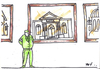 Cartoon: Guard (small) by Monica Zanet tagged zanet free