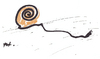 Cartoon: Snail (small) by Monica Zanet tagged free,zanet