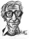 Cartoon: Woody Allen (small) by ignant tagged woody allen