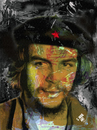 Cartoon: Ernesto Che Guevara (small) by Zoran Spasojevic tagged ernesto,che,guevara,revolutionary,portrait,digital,graphics,paske,emailart,spasojevic,zoran,kragujevac,serbia