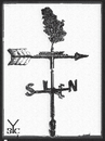 Cartoon: Weather vane Serbia (small) by Zoran Spasojevic tagged emailart,digital,collage,graphics,weathervane,spasojevic,zoran,paske,kragujevac,serbia