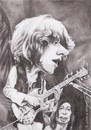 Cartoon: Mick Taylor (small) by Joen Yunus tagged pencil rock star drawing caricature