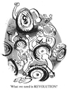 Cartoon: Revolution (small) by drawgood tagged cartoon,revolution,wheels