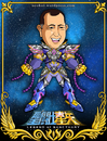 Cartoon: Marcos Patino - Actor de Doblaje (small) by Neokoi tagged actor,de,doblaje,saint,seiya,caballeros,del,zodiaco,neokoi,mexico