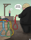 Cartoon: Maybe This One (small) by Tjeerd Royaards tagged uk,europe,eu,brexit,deal,no,boris,johnson