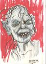 Cartoon: GOLLUM (small) by Seydi Ahmet BAYRAKTAR tagged gollum