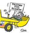 Cartoon: PALESTINIAN STATE RECOGNITION (small) by QUEL tagged palestinian,state,recognition