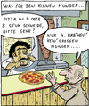 Cartoon: 1vobobild004 (small) by VoBo tagged pizzapitch,pizza,imbiss,food,essen,fast,slice,hunger