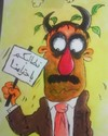 Cartoon: humen right- oregenal (small) by hamad al gayeb tagged humen,right,oregenal