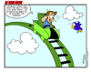 Cartoon: Roller Coaster (small) by Gopher-It Comics tagged gopherit,ambrose,rollercoaster