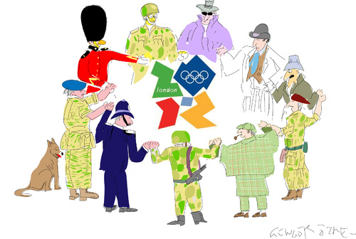 Cartoon: London Olympic-2012 (medium) by gungor tagged sport