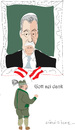 Cartoon: A.Van der bellen (small) by gungor tagged austria