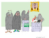 Cartoon: First step (small) by gungor tagged saudi,arabia
