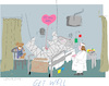 Cartoon: Get Well (small) by gungor tagged health