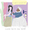 Cartoon: Gone With the Wind (small) by gungor tagged movie