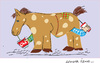 Cartoon: Horse 3 (small) by gungor tagged animal