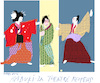 Cartoon: Kabuki Theatre (small) by gungor tagged japanr