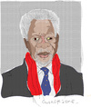 Cartoon: Kofi Annan-2 (small) by gungor tagged middle,east