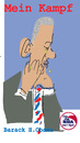 Cartoon: Mein Kampf 2 (small) by gungor tagged usa