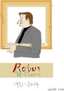 Cartoon: Robin Williams (small) by gungor tagged movie