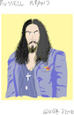 Cartoon: Russell Brand (small) by gungor tagged england
