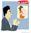 Cartoon: Shinzo Abe (small) by gungor tagged japan